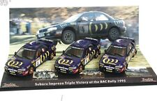 TROFEU 691 SUBARU IMPREZA WRC 3-piece Victory set RAC RALLY 1995 McRae 1:43rd