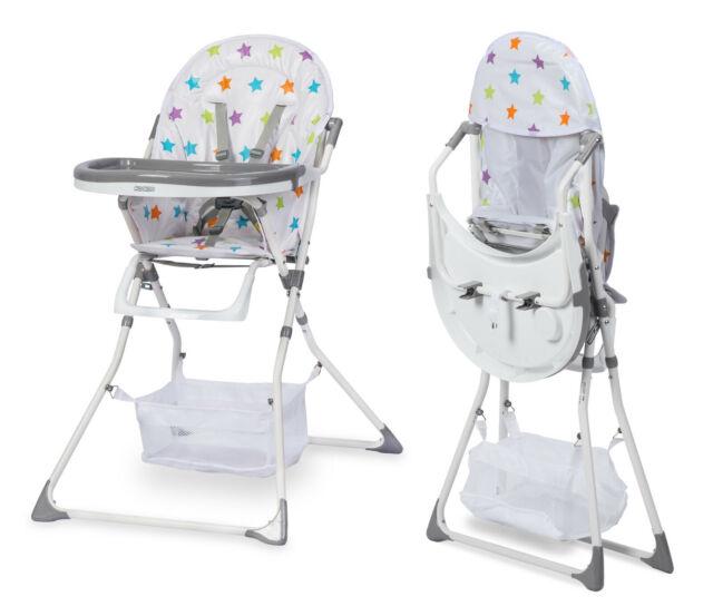 Hochstuhl Babyhochstuhl mit Tablett Liege Tugo grau oder blau  Ricokids