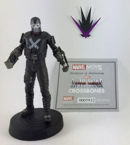 Figurine Marvel Eaglemoss Movie Collection 49 Crossbones box /& fascicle