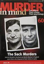 Murder in Mind Issue 60 - The Sack Murders, Jeannie Donald, Bertie Manton