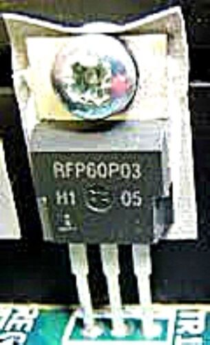 HAR RFP60P03 TO-220 60A 30V Avalanche Rated P-Channel USA ship