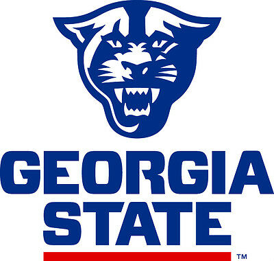 Georgia State Panthers NCAA Color Die-Cut Decal Car Sticker *Free Shipping