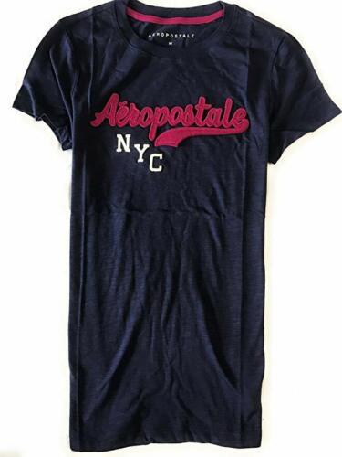 Aeropostale Women/'s Tee Shirt  embroidered  Aeropostale NYC