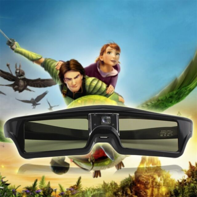 3D IR Active Shutter Glasses For BenQ W1070 W700 W710ST DLP-Link Projector zh