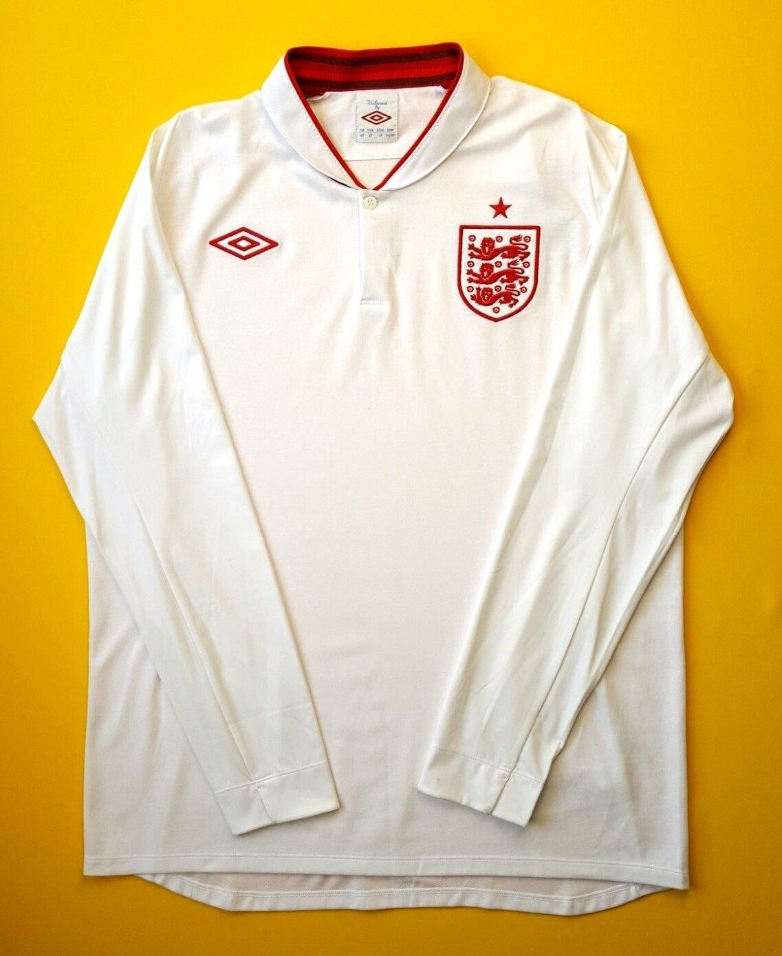 e21d76514 5+ England soccer jersey s. 2012 home long sleeve shirt football Umbro ig93  46 5 nqfpwk6258-Soccer-National Teams