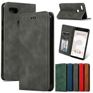 For-Google-Pixel-3a-XL-Case-Pixel-3-XL-Magnetic-Leather-Card-Holder-Phone-Cover