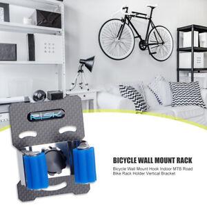 Bicycle Wall Mount Hook Indoor MTB Road Bike Rack Holder Vertical Bracket UK