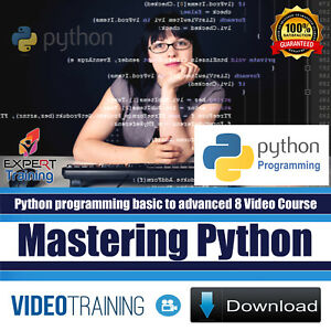 Details about Mastering Python Programming Bundle Pack of 8 Video training  Course DOWNLOAD