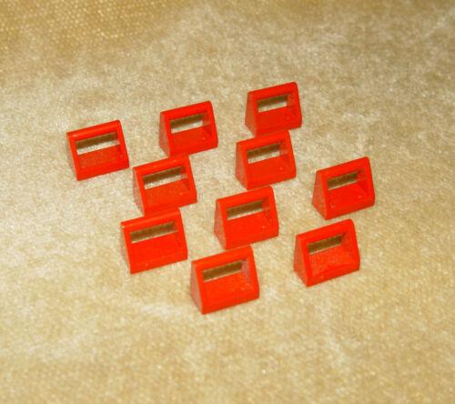 Qté 10//12 LEGO pièces Carrelage Choisissez Couleur 2432 1 x 2 avec poignée modifiée