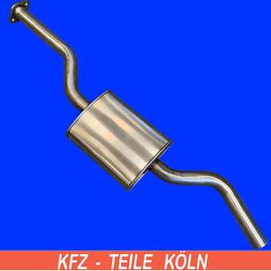 Edelstahl-Mercedes-S123-Kombi-W123-Stufenheck-200-200T-Mittelschalldampfer