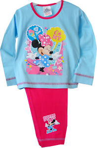 Kinder Baby Pyjama SET Hose /& Shirt Minnie Mouse Schlafanzug 80 86 92 98 104