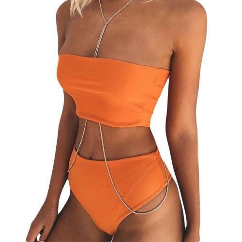 Women Bikini Set Push-up Padded Bra Swimsuit Swimwear Beachwear Bathing Suits