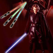 "Star Wars Laser Sword Telescopic Sword Lightsaber Laser Light Sword 26"" Blue"