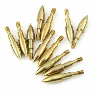 Bullet Archery Practice Broadheads Arrow head Target Field Points Tips Y
