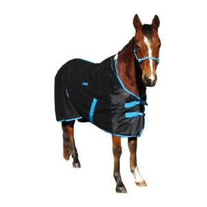 Details About Love My Horse 5 3 6 Winter Wool Rug Show Travel Le Black Blue