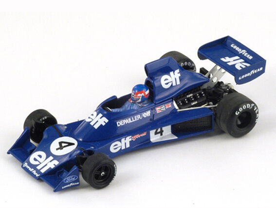 Spark Model 1 43 S1646 Tyrrell 007 F.1 Ford  Elf  th Belgium GP 1975 NEW