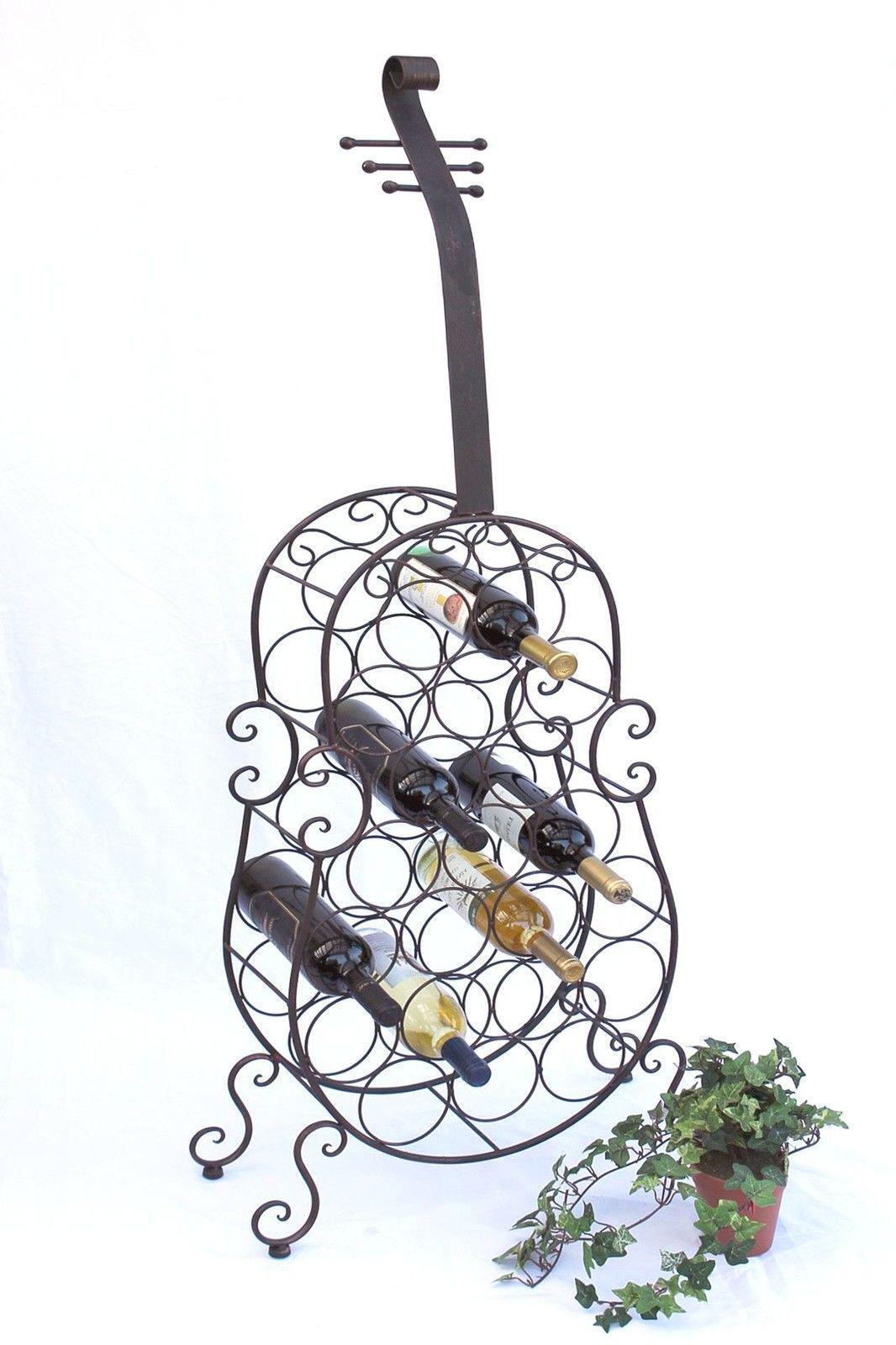 Étagère à vin CELLO en métal 100136 Range-bouteilles 134 cm bar