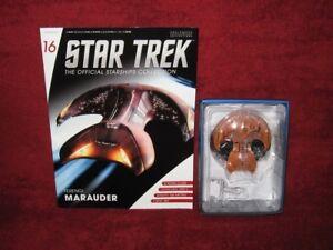 Star Trek Eaglemoss Issue 16 Ferengi Marauder Magazine