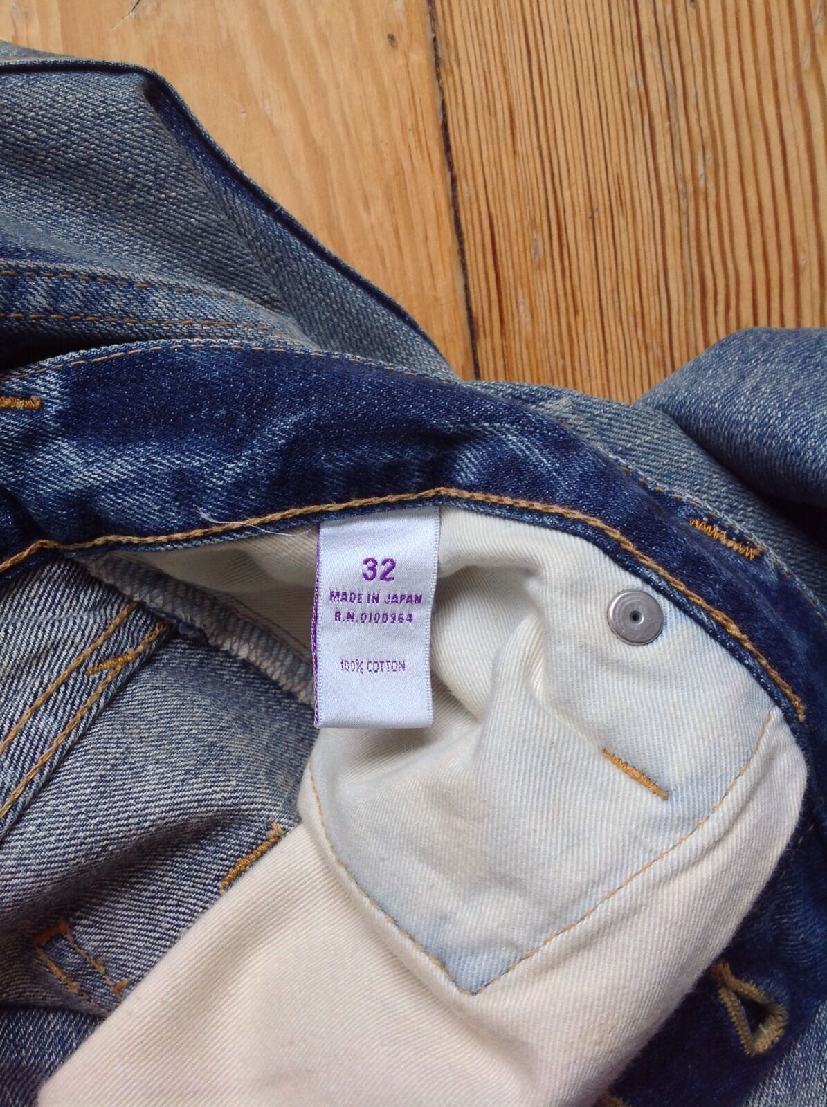PRPS PRPS PRPS Jeans p57p88x Dimensione 32 made in Japan 4bfda4