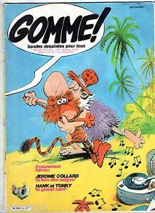 MAGAZINE-BD-GOMME-n-9-1982-GLENAT-HANK-ET-TONKY-JEROME-COLLARD