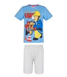 Sizes 3-9 Years Fireman Sam Official Kids Long Sleeved T-Shirt