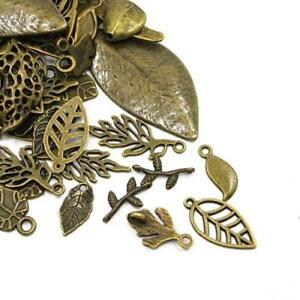 Leaf Charm/Pendant Tibetan Antique Bronze 5-40mm  30 Grams Accessory Jewellery 5055711137854
