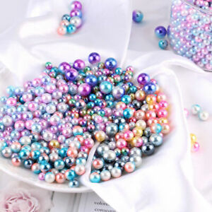Wholesale-Round-Imitation-Pearl-Beads-Mix-Colors-DIY-Jewelry-Makings-Craft-Decor