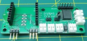 DIYBMS V4 for diy powerwall and other application. WI-FI, MQTT, relay rules.