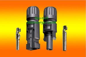 Solarenergie 10 Paar Multicontact Mc4 Steckverbinder 4 Bis 6mm²