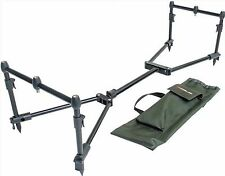 Leeda Rogue Easy Assembled Carp 3 Rod Pod Pack + Carry Case Coarse Fishing