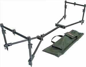 Leeda-Rogue-Easy-Assembled-Carp-3-Rod-Pod-Pack-Carry-Case-Coarse-Fishing