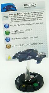 Robinson-Ship-Figure-021-HeroClix-Star-Trek-Tactics-II-Ship-Figure-Rare-Wizkids