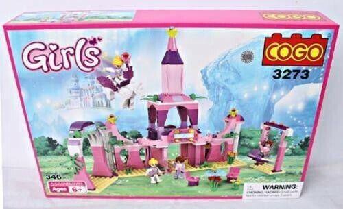 Cogo Girl Series – Indosoccerstarz -346 Pieces