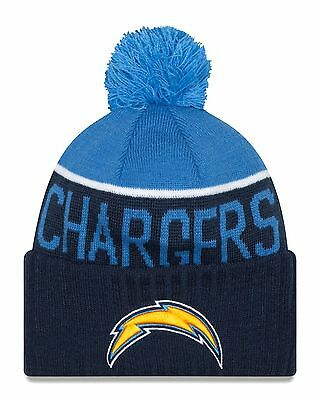 New Era Adult Men San Diego Chargers Biggest Fan Redux Beanie