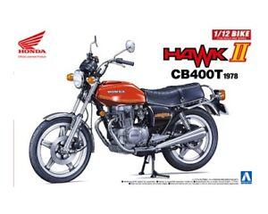 Aoshima 1/12 Honda Hawk II Cb400t 1978 # 053966