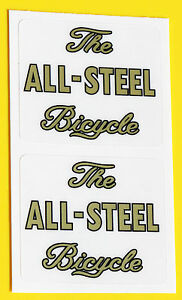Raleigh-1950-039-s-style-039-The-ALL-STEEL-Bicycle-039-Stickers-decals-SPORTS-TOURIST