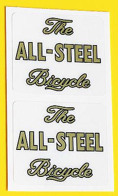 Raleigh Vintage/' Specialst Fahrrad Entwicklung/' Metallisch Aufkleber