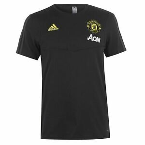 adidas-Mens-Manchester-United-T-Shirt-2019-2020-Licensed-Short-Sleeve
