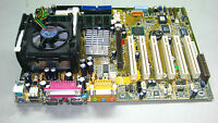 Asus P4B REV:1.05 Socket 478 Motherboard W/ P4 1.5GHz CPU+Heatsink+512MB.#TQ122