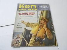 (ABC) SEPT 1958 KEN FOR MEN mens adventure magazine LONE WOLF PATROL - AMAZON