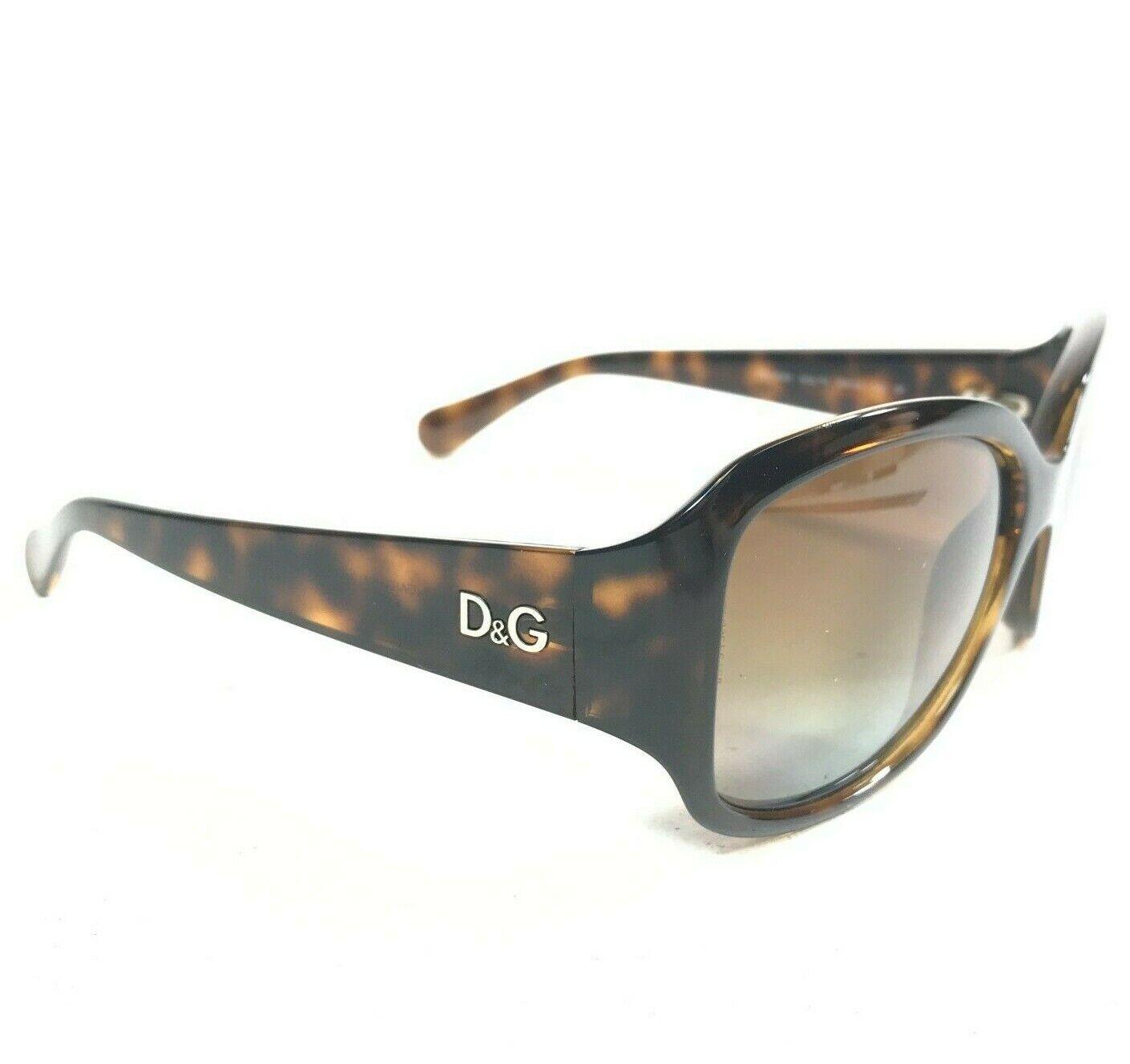 Dolce & Gabbana Sunglasses DD8065 502/T5 Butterfly Brown Tortoise Frames 125 2