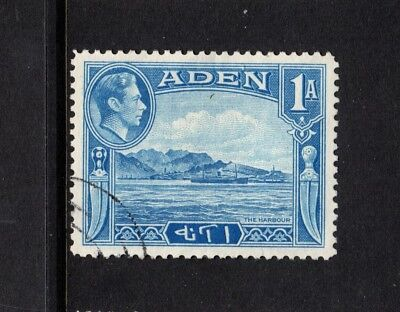 Stamps Contemplative Aden 1a Blue George Vi Sg18 Fine Used The Harbour
