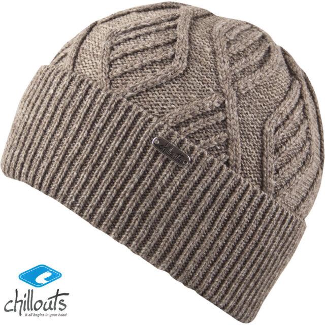 Chillouts Joshua Berretto di Lana Uomo Cappello invernale  98035425a10b