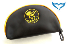 Poseidon schwarze Maskentasche Poseidon Logo in gelb Tauchermaske TauchMaske NEU