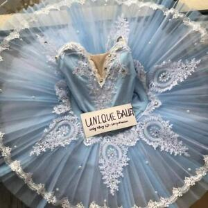 a4acef0b6 Adult Professional Classic Ballet Tutu Skirt Ice Queen Skating Dance ...