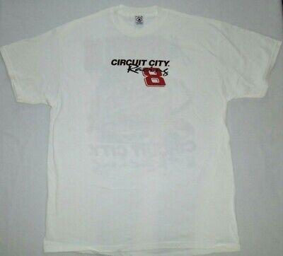 Vintage NASCAR Hut Stricklin #8 Circuit City Racing T Shirt XL