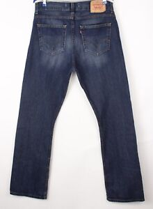 Levi's Strauss & Co Hommes 506 Jeans Jambe Droite Taille W36 L34 BBZ222