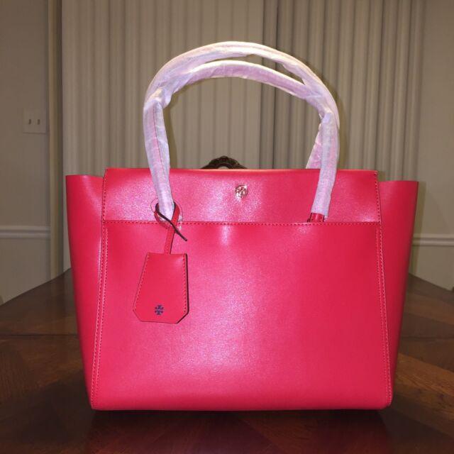 24a25365d75 Tory Burch Parker Tote Ivory Bag Shoulder Satchel Handbag for sale ...