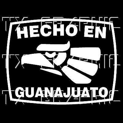 Guanajuato Gto Mexico Decal Sticker Car Window Boat Wall Vehicle Graphics