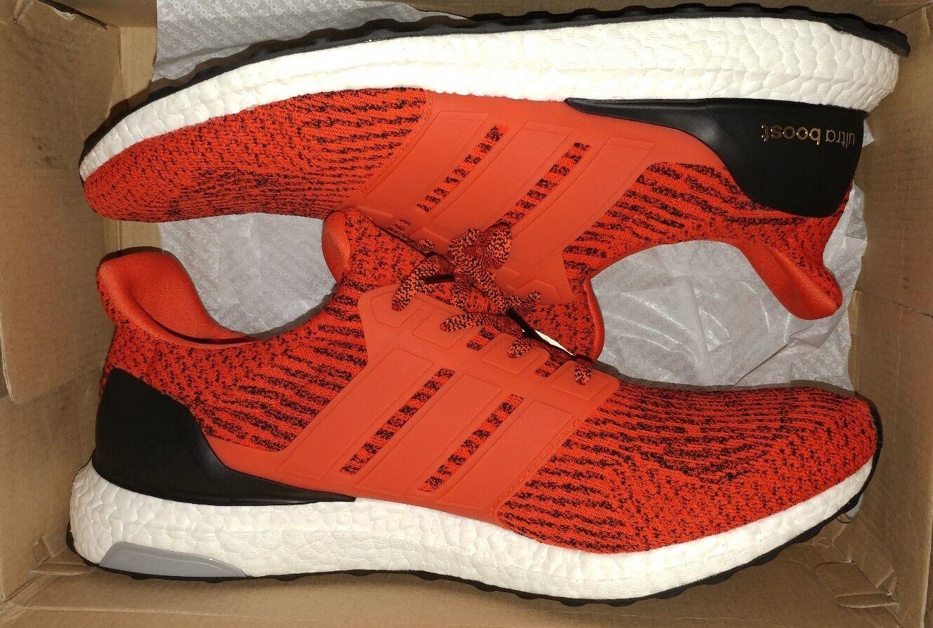 ADIDAS UltraBoost UltraBoost UltraBoost 3.0 Energy Red Black Size 15 S80635 - BRAND NEW IN BOX  c99b04